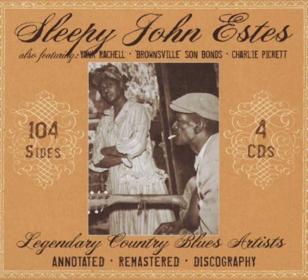 Sleepy John Estes (4-CD-Box)