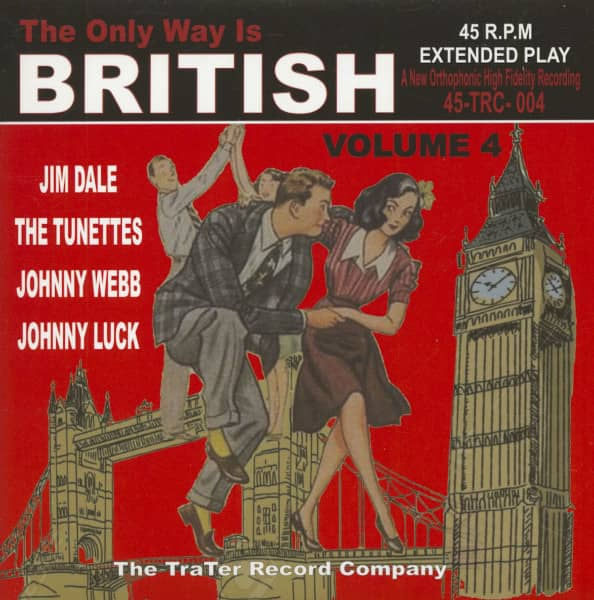 The Only Way Is British, Vol.4 (7inch, 45rpm, EP, PS)