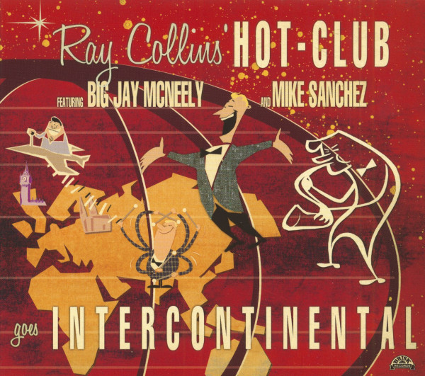 Collins' Hot Club, Ray Goes Intercontinental (CD)