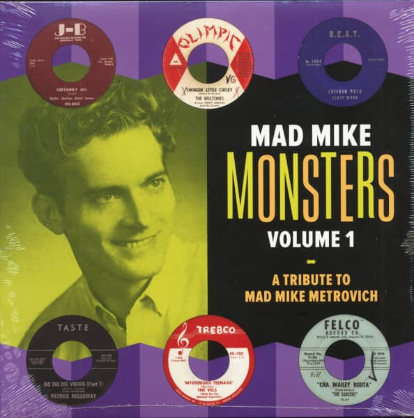 Mad Mike Monsters Vol.1 - A Tribute To Mad Mike Metrovich (LP)