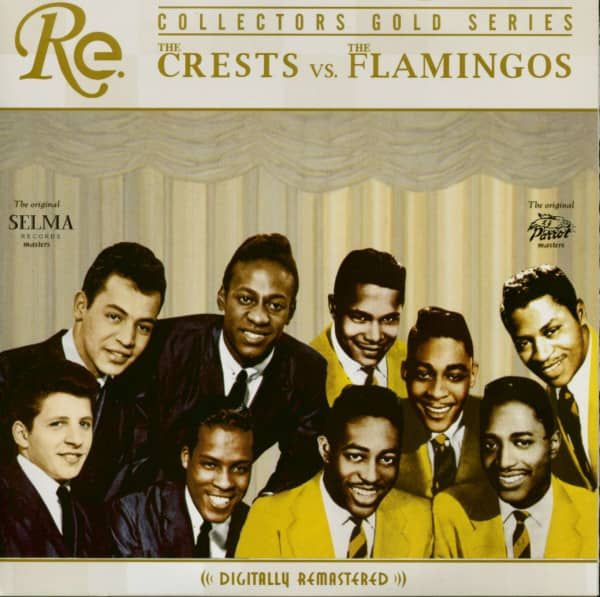 The Crests vs. The Flamingos - Collectors Gold Series (CD)