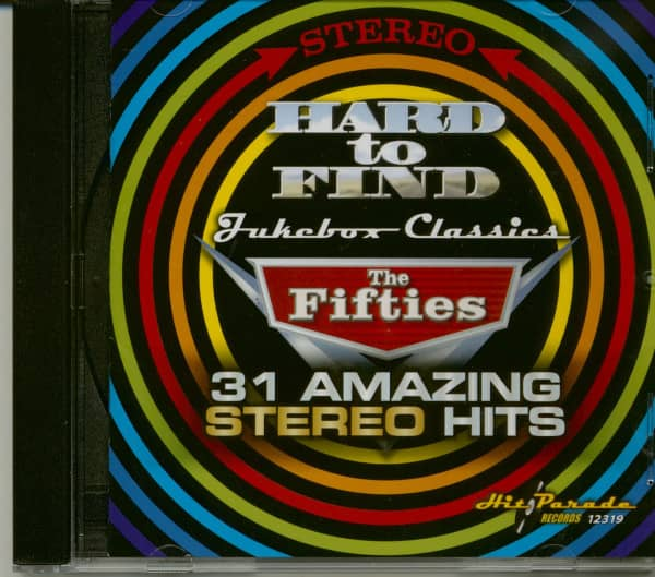 Hard to Find Jukebox Classics:The Fifties (31 Amazing Stereo Hits) (CD)