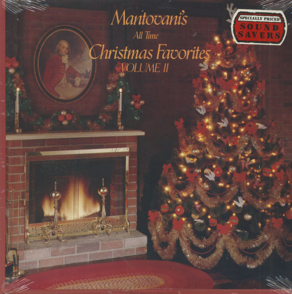 Mantovanis All Time Christmas Favorites Vol.2 (LP, Cut-Out)