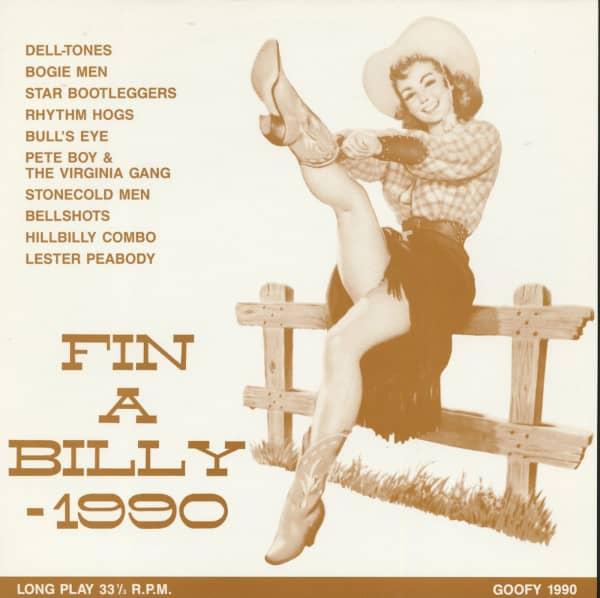 Fin A Billy - 1990 (LP)