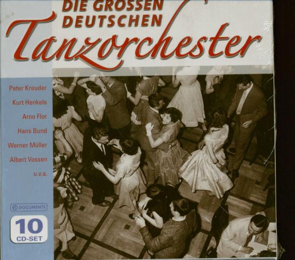 Die großen deutschen Tanzorchester (10-CD)
