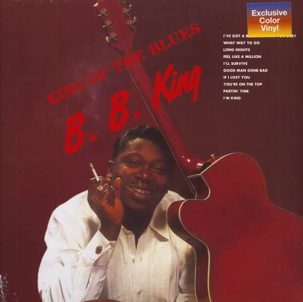 King Of The Blues (LP, Colored Vinyl)