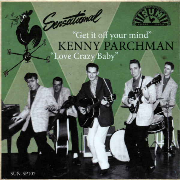 Get It Off Your Mind b-w Love Crazy Baby 7inch, 45rpm, PS