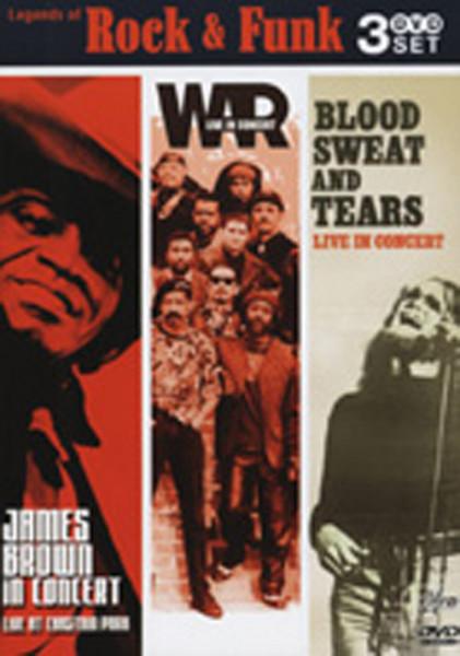 Va Legends Of Rock & Funk 3-DVD