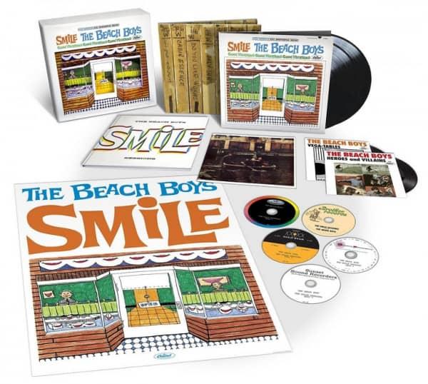 Smile...plus (5-CD - 2-LP - 2-7inch) Box (33x33cm)