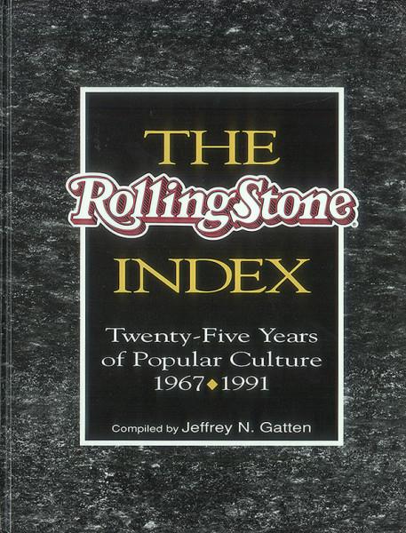 Rolling Stone Index 67-91 (hb) - Jeffrey N. Gatten