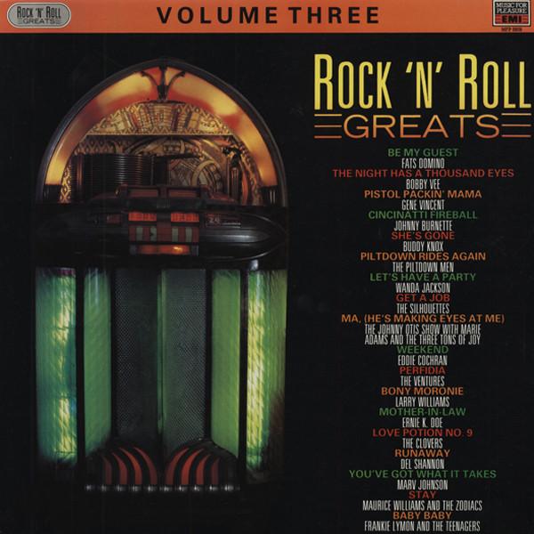 Rock & Roll Greats Vol. 3 (LP)