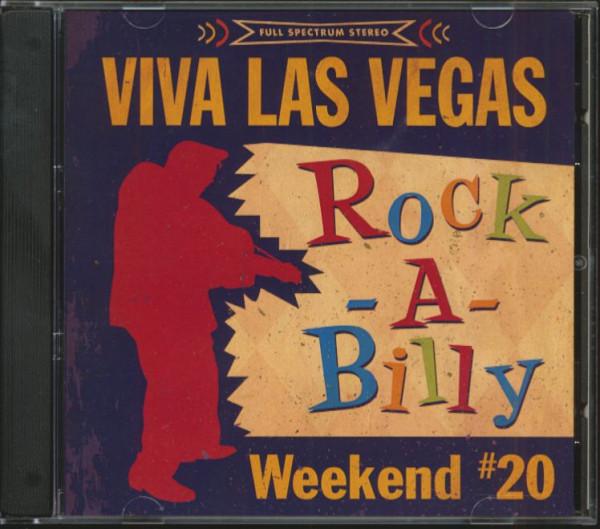 Viva Las Vegas Rock-A-Billy Weekend No.20 (CD)