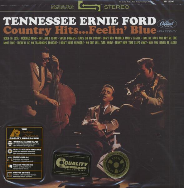 Country Hits...Feelin' Blue (LP, 200g Vinyl, Ltd.)