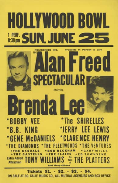 Lee, Brenda & Others Hollywood Bowl - Alan Freed Spectacular 1961