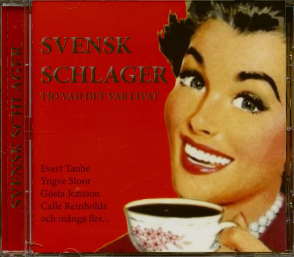 Svensk Schlager - Tjo Vad Det Var Livat (CD)