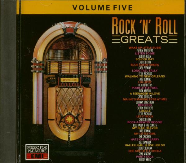 Rock & Roll Greats Vol.5 (CD)