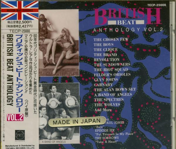 British Beat Anthology Vol.2 (CD)