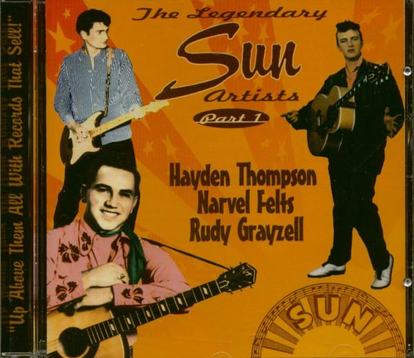 The Legendary Sun Artists - Part 1 (CD)