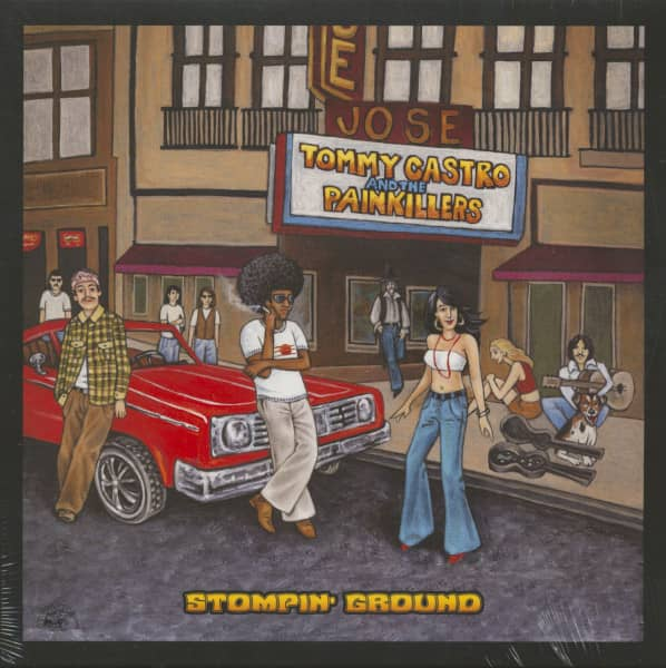 Stompin' Ground (LP, 180g Vinyl)
