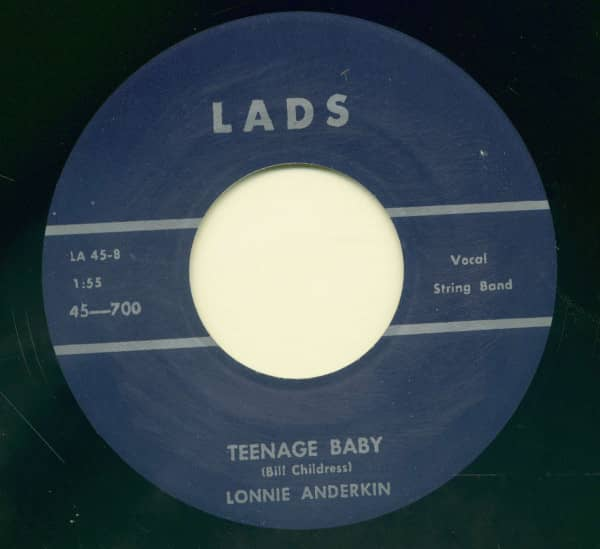 Tell-Em - Teenager Baby (7inch, 45rpm)