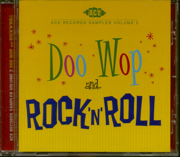 Ace Records Sampler Vol.2 - Doo Wop and Rock & Roll (CD)