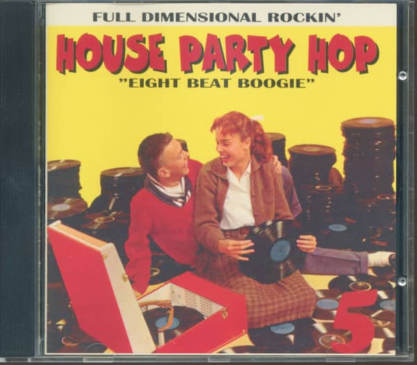 House Party Hop Vol.5 - Eight Beat Boogie (CD)