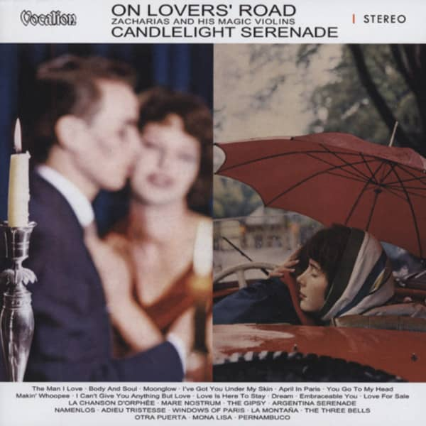 Zacharias, Helmut On Lover's Road & Candlelight Serenade