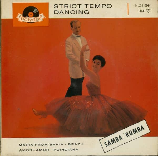 Strict Tempo Dancing - Samba & Rumba (7inch, 45rpm, EP, PS)