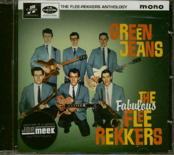 The Fabulous Flee-Rekkers Green Jeans - The Anthology (CD)