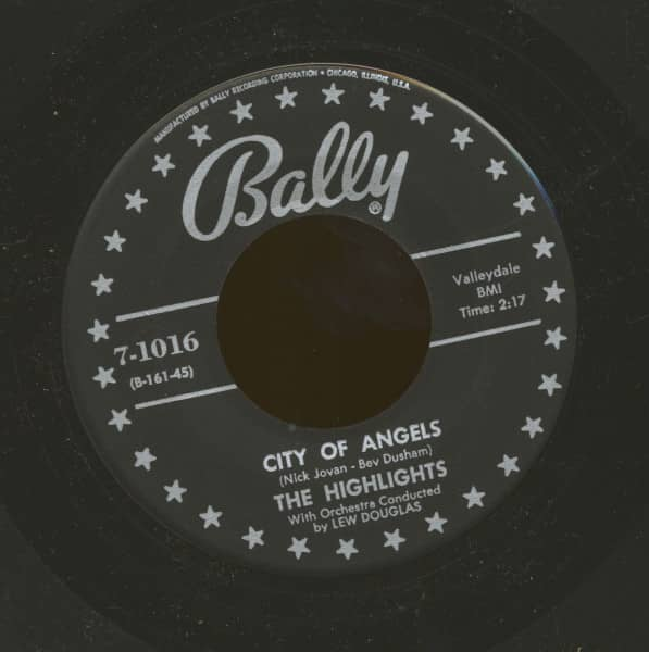 The City Of Angels - Listen My Love (7inch, 45rpm)