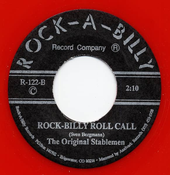 Quarter Ton Baby - Rock Billy Roll Call 7inch, 45rpm
