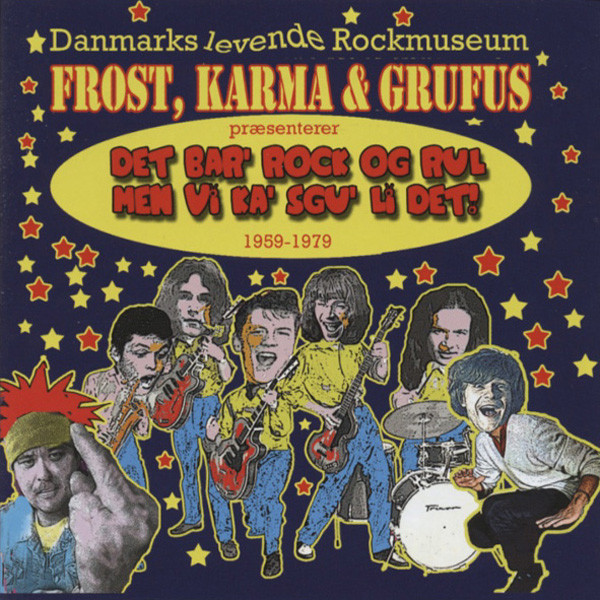 Va Frost, Karma & Grufus 50th Anniversary CD