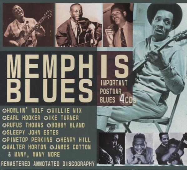 Memphis Blues (4-CD-Box)