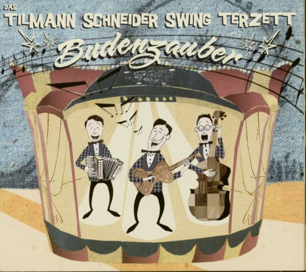Budenzauber - Tilmann Schneider Swing Terzett (CD)