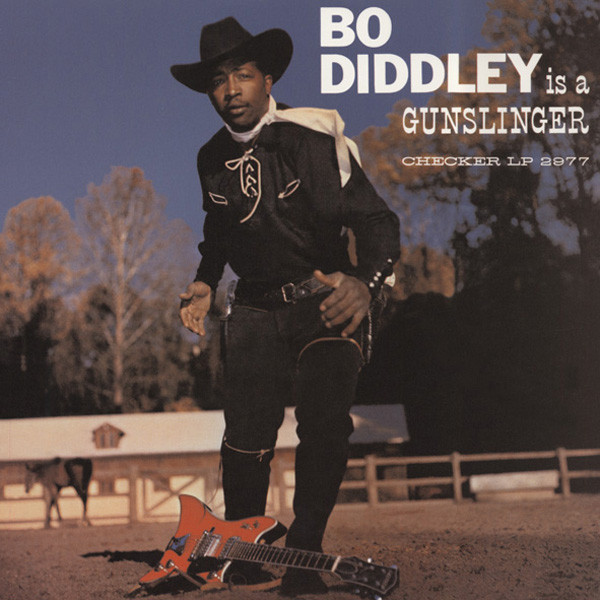 Bo Diddley Is A Gunslinger (1961) re-issue