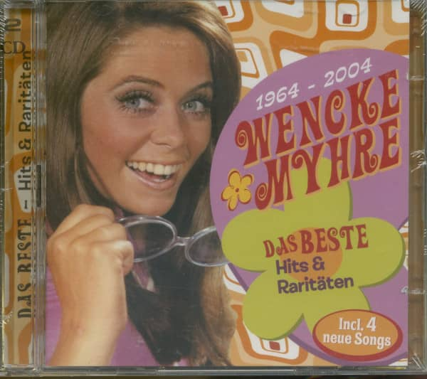 Myhre, Wencke Hits & Raritäten (incl.4 neue Songs) 2-CD